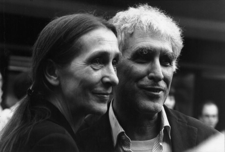 Pina Bausch e Franco Quadri