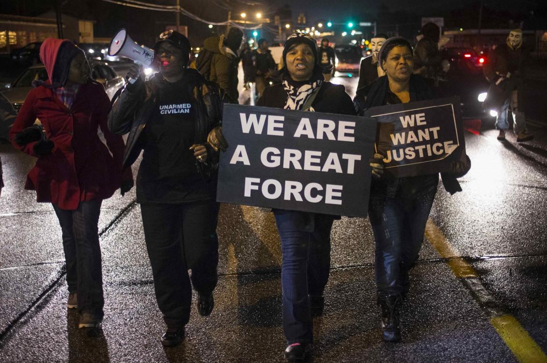 L'attesa a Ferguson