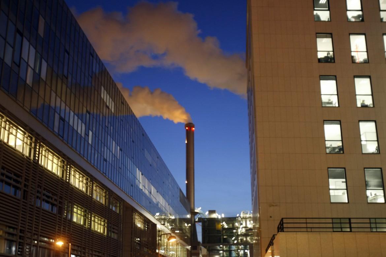 Un impianto di incenerimento dei rifiuti