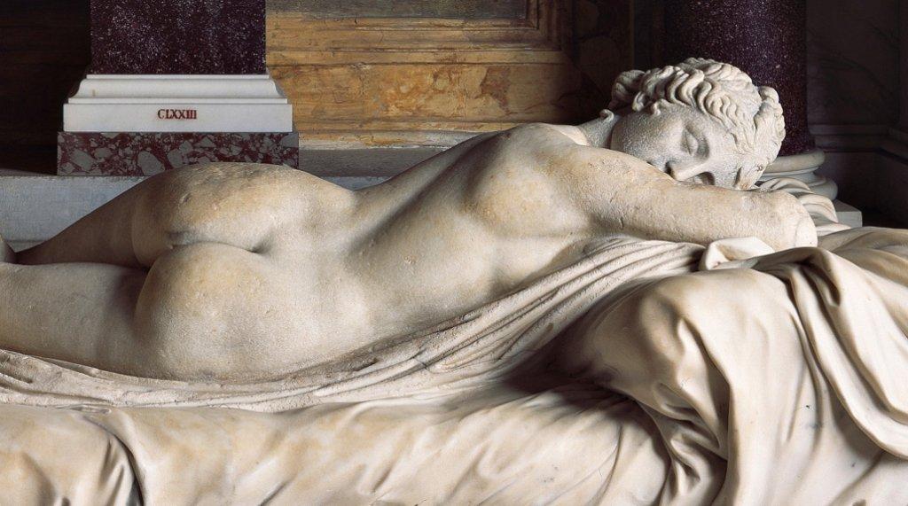 L'ermafrodito dormiente, Galleria Borghese, Roma