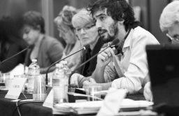 Claudio Riccio, attivista di Agire, Costruire, Trasformare (Act