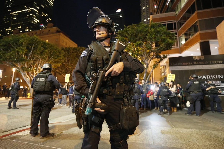 La polizia a Los Angeles