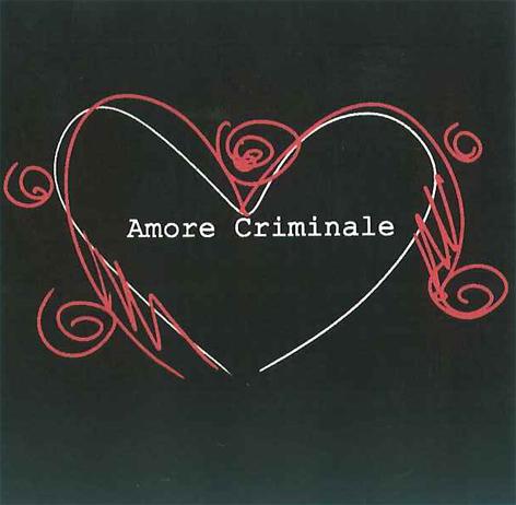 """Logo della Trasmissione """"Amore criminale"""" in onda su Raitre"""