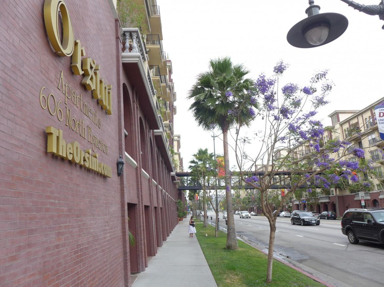 """Una """"fortezza toscana"""" di LA"""
