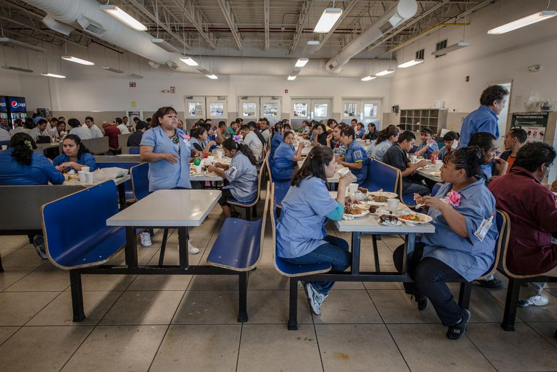 Messico, la caffetteria di Foxconn