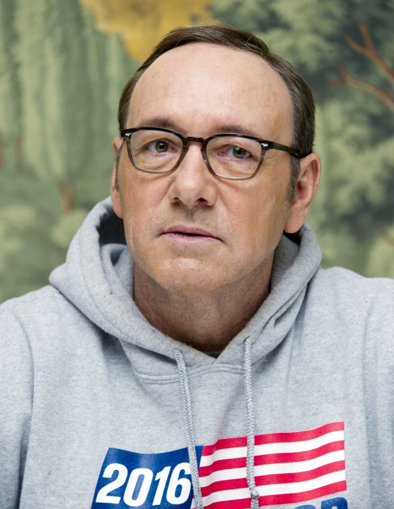 Spacey a New York sabato scorso