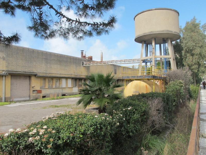 La fabbrica Marlane di Praia a Mare