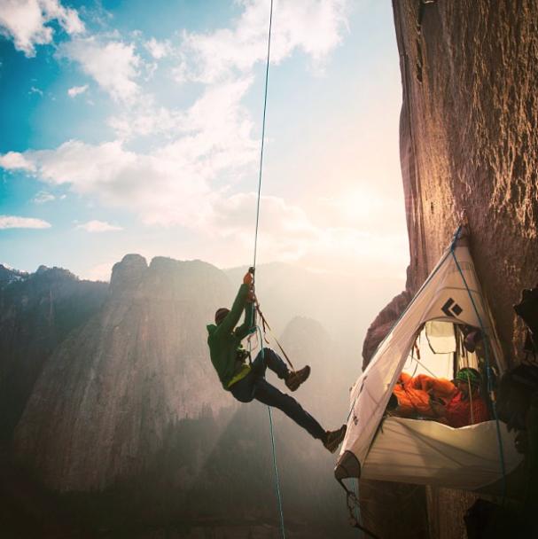 Tommy Caldwell e Kevin Jorgeson su El Cap