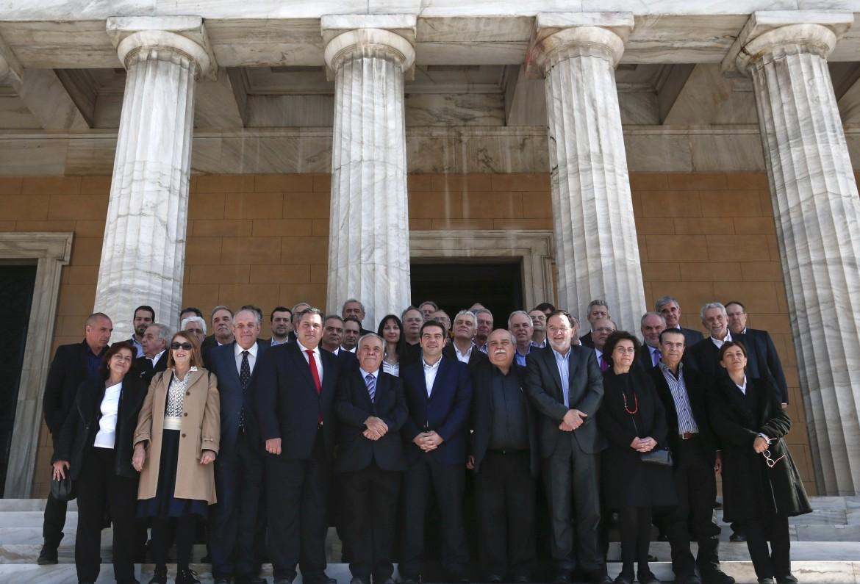 I ministri del governo Tsipras