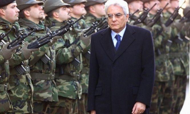 Sergio Mattarella ministro della difesa, autunno 2000