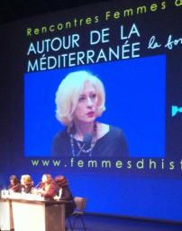 Luisa Betti – AUTOUR DE LA MÉDITERRANÉE. La force des femmes - Femme d'Histoire 7 febbraio 2015 -