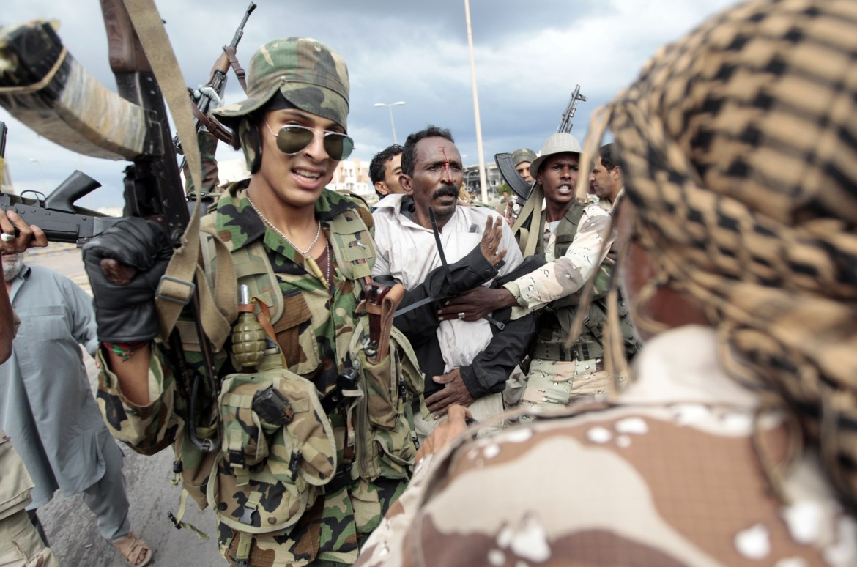 Arresti durante la caduta di Gheddafi nel 2011