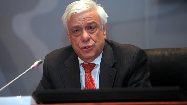 Il presidente greco Prokopis Pavlòpulos