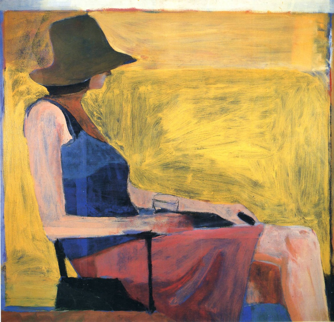 Richard Diebenkorn, «Seated Woman»