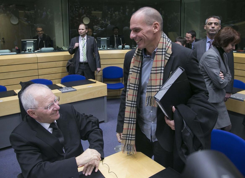 Schauble e Varoufakis al secondo eurogruppo