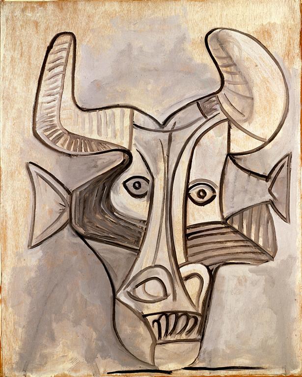 Un Minotauro disegnato da Pablo Picasso
