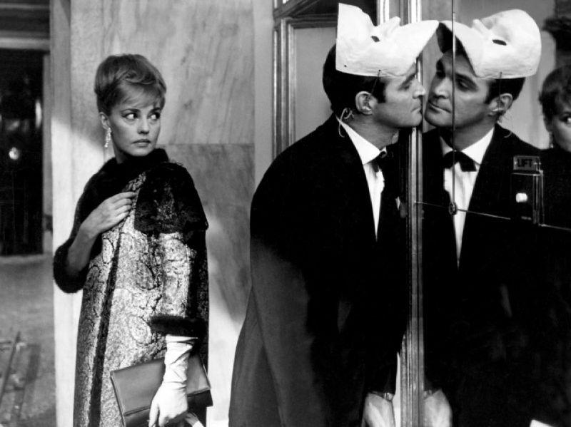 Jeanne Moreau in Eve di Joseph Losey