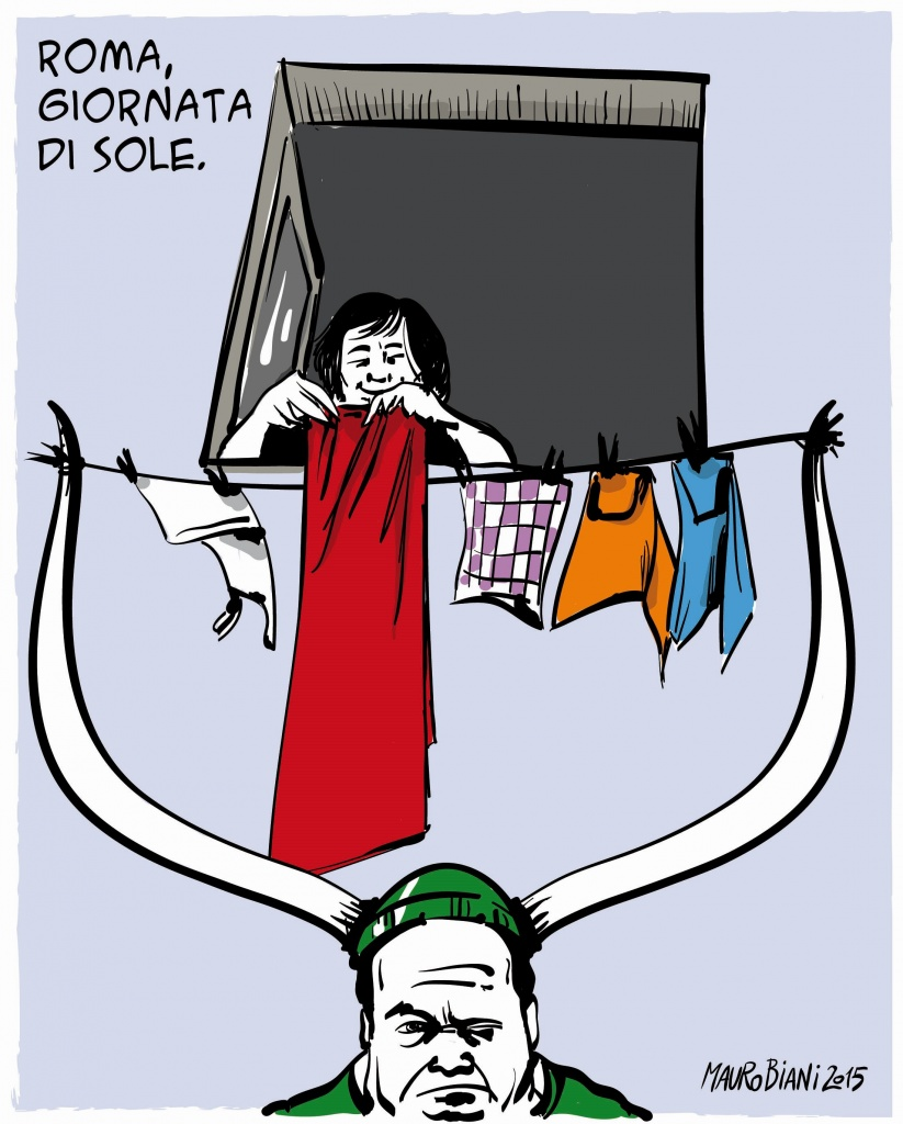 Leghisti a Roma