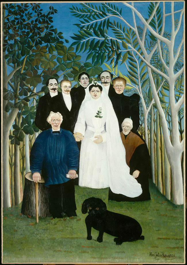 Henri Rousseau, «Nozze in campagna», 1904/05
