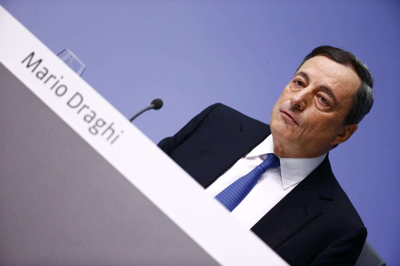 Mario Draghi al tempo presidente della Bce