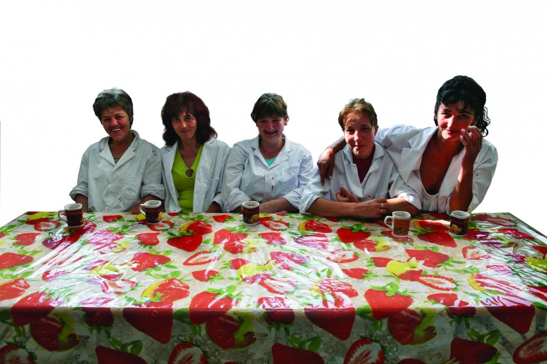 Le donne della cooperativa «Insieme»