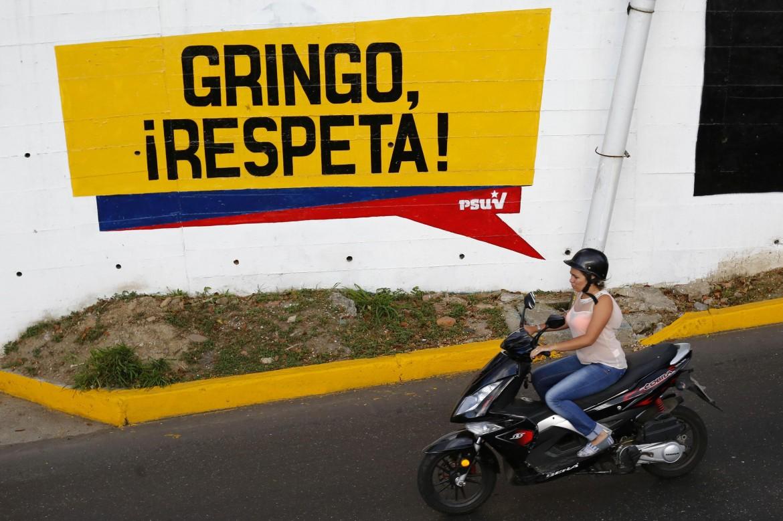 Un murale a Caracas