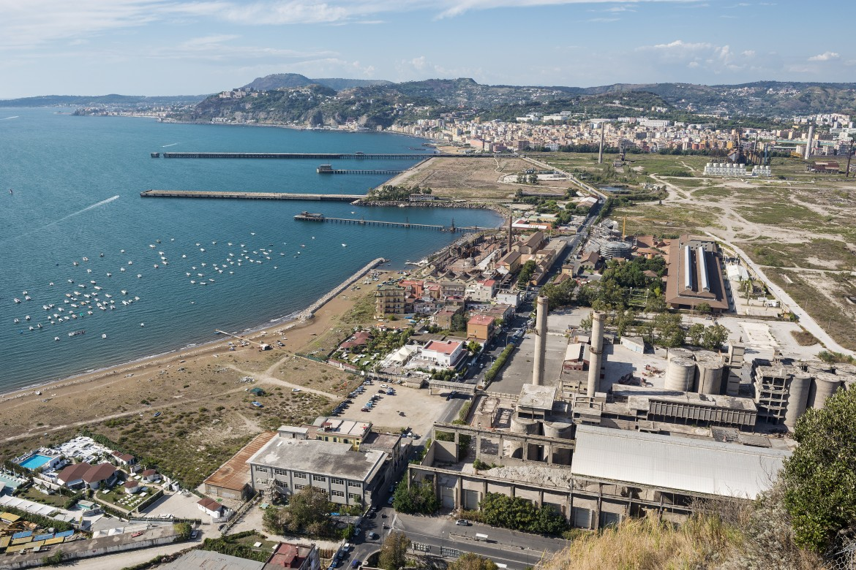 L'area ex Ilva a Bagnoli, Napoli