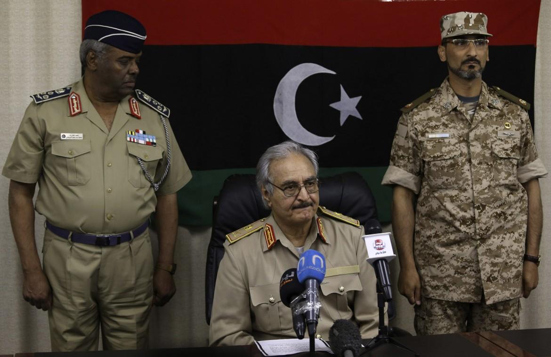 il generale Haftar