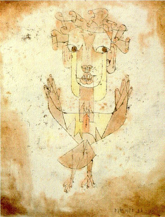 L'Angelus Novus di Paul Klee