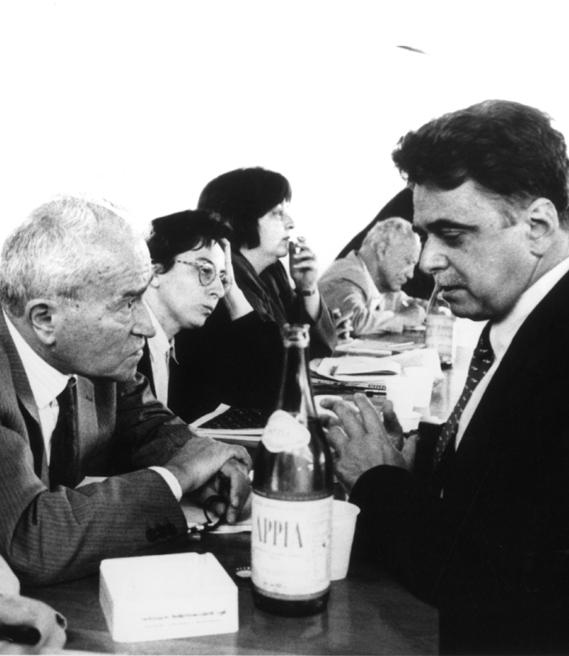 Pietro Ingrao e Achille Occhetto