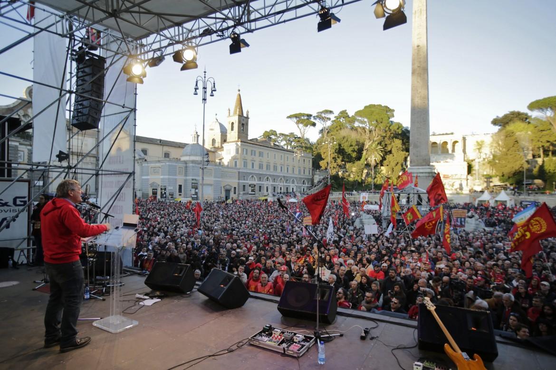 Landini sul palco di Unions