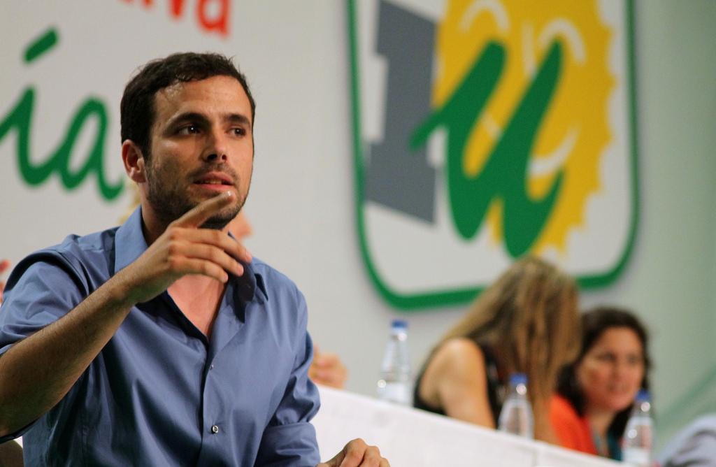 Il leader di Iu Alberto Garzón