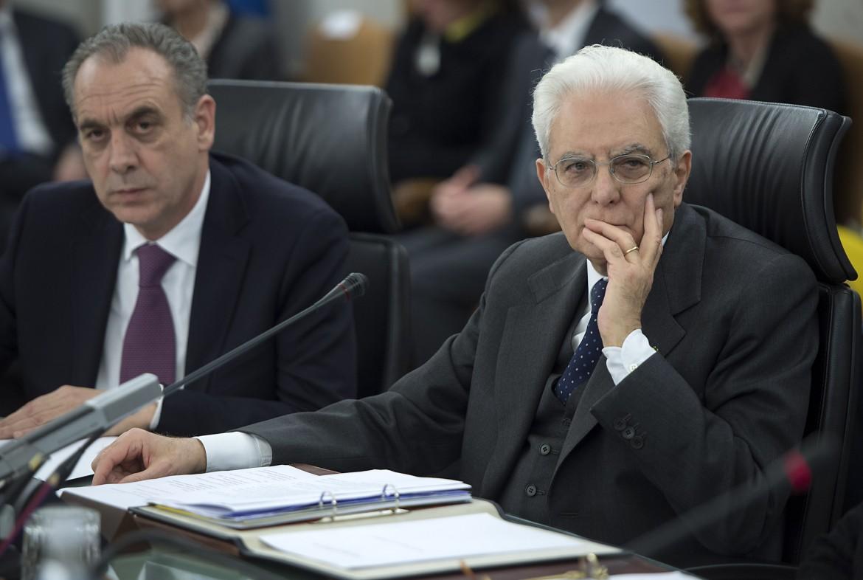 Mattarella e Legnini alla presidenza del Csm