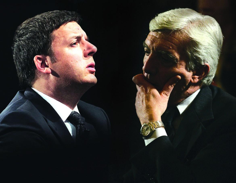 Matteo Renzi e Gianni De Gennaro