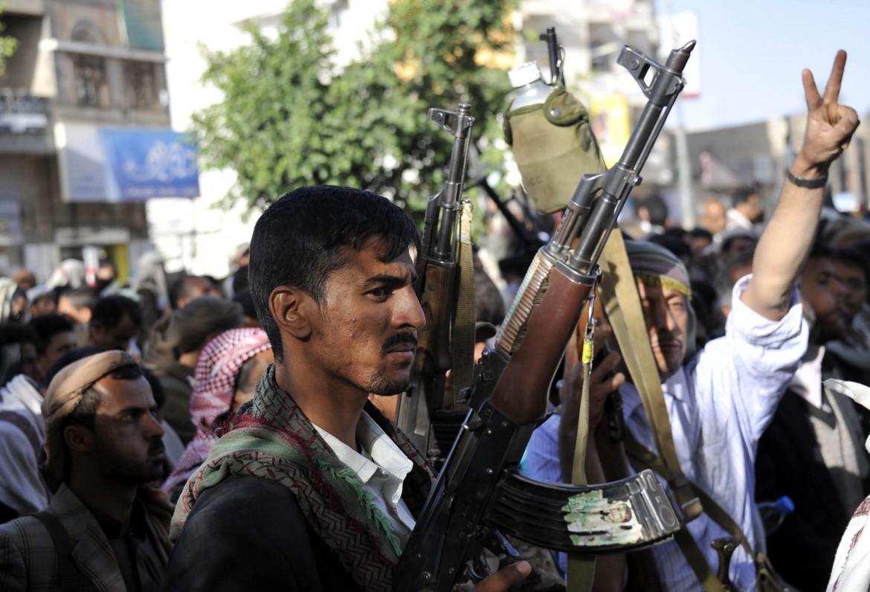 Miliziani Houthi in Yemen