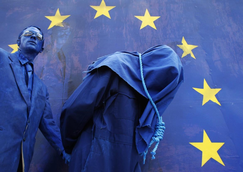 Manifestazione contro la tortura a Bruxelles