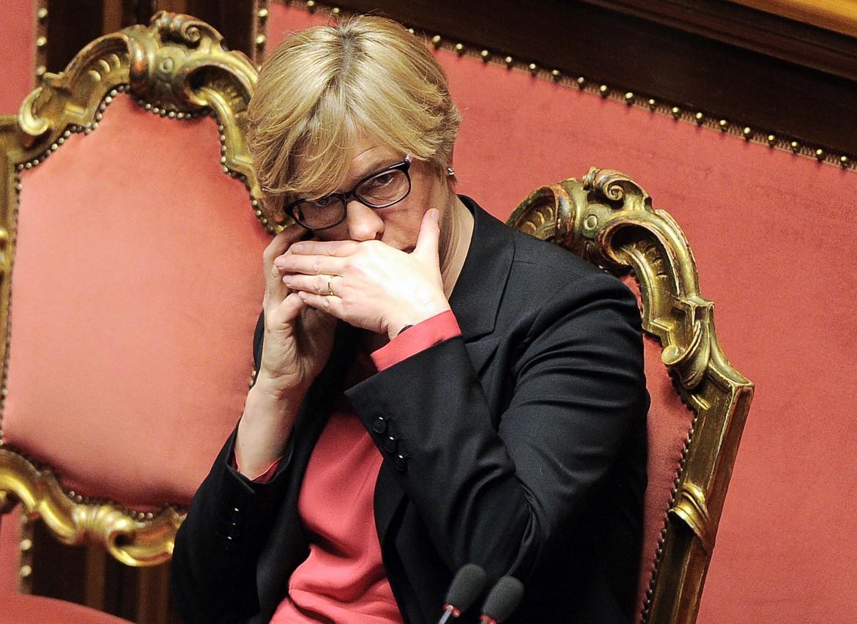 La ministra della difesa Roberta Pinotti