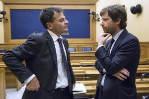 Stefano Fassina e Pippo Civati