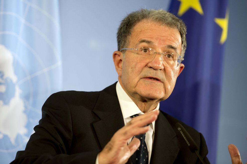 L'ex premier italiano ed ex presidente della Commissione Ue, Romano Prodi