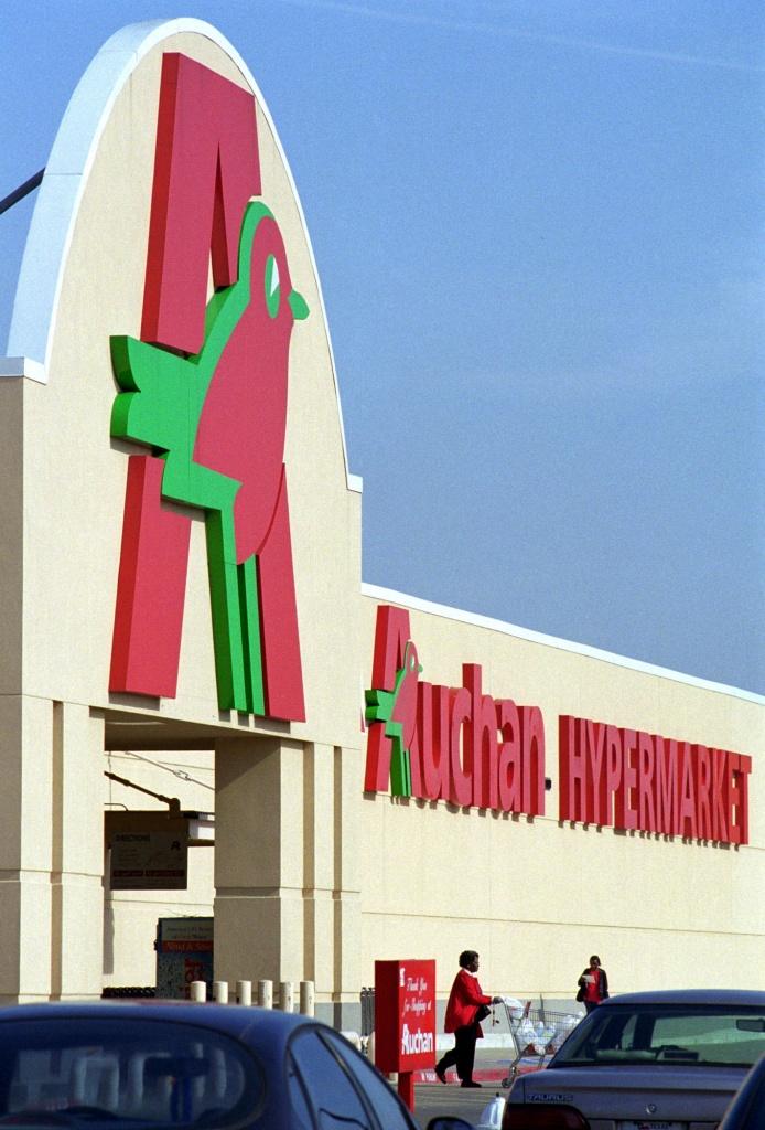 Un ipermercato Auchan