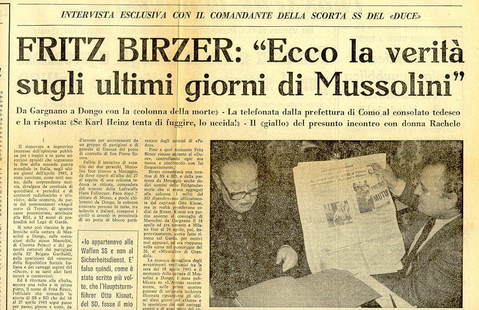 L'intervista del 1981 a Fritz Birzer. Fonte: http://www.larchivio.org/xoom/birzer.htm