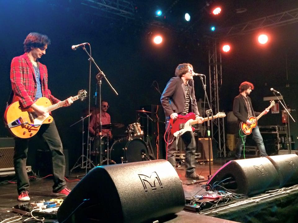 The Bubbles, vincitori del Contest Wanted Primomaggio, live at Hiroshima Mon Amour, Torino