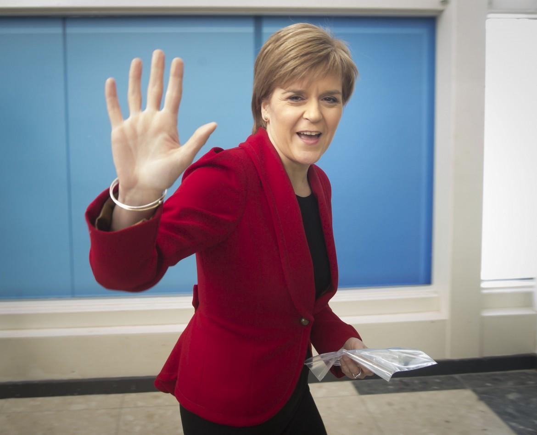 L'indipendentista scozzese Nicola Sturgeon