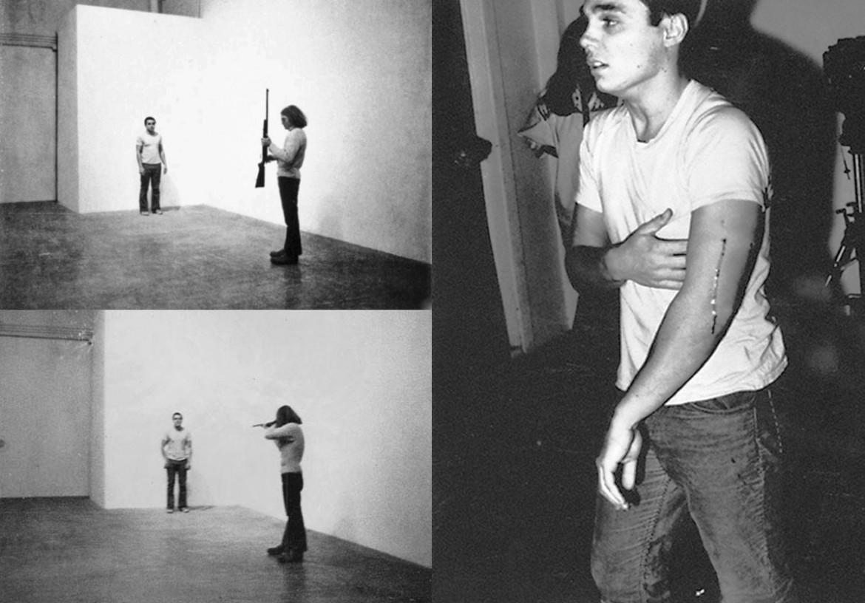 «Shoot» di Chris Burden, 1971