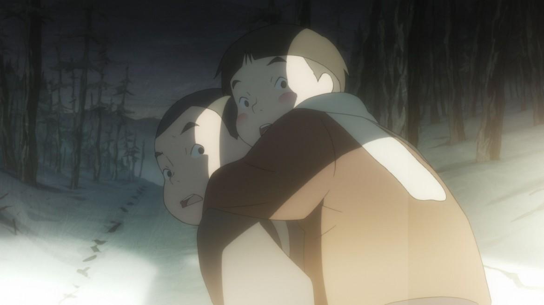Una scena da Barefoot Gen