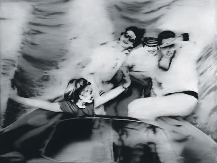 Gerhard Richter, «Motorboot», 1965