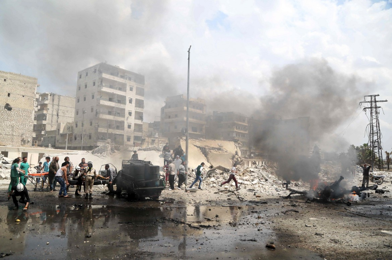 Aleppo martoriata dalla guerra civile
