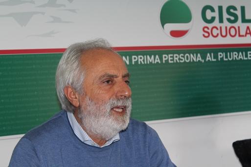 Il segretario generale della Cisl Scuola Francesco Scrima