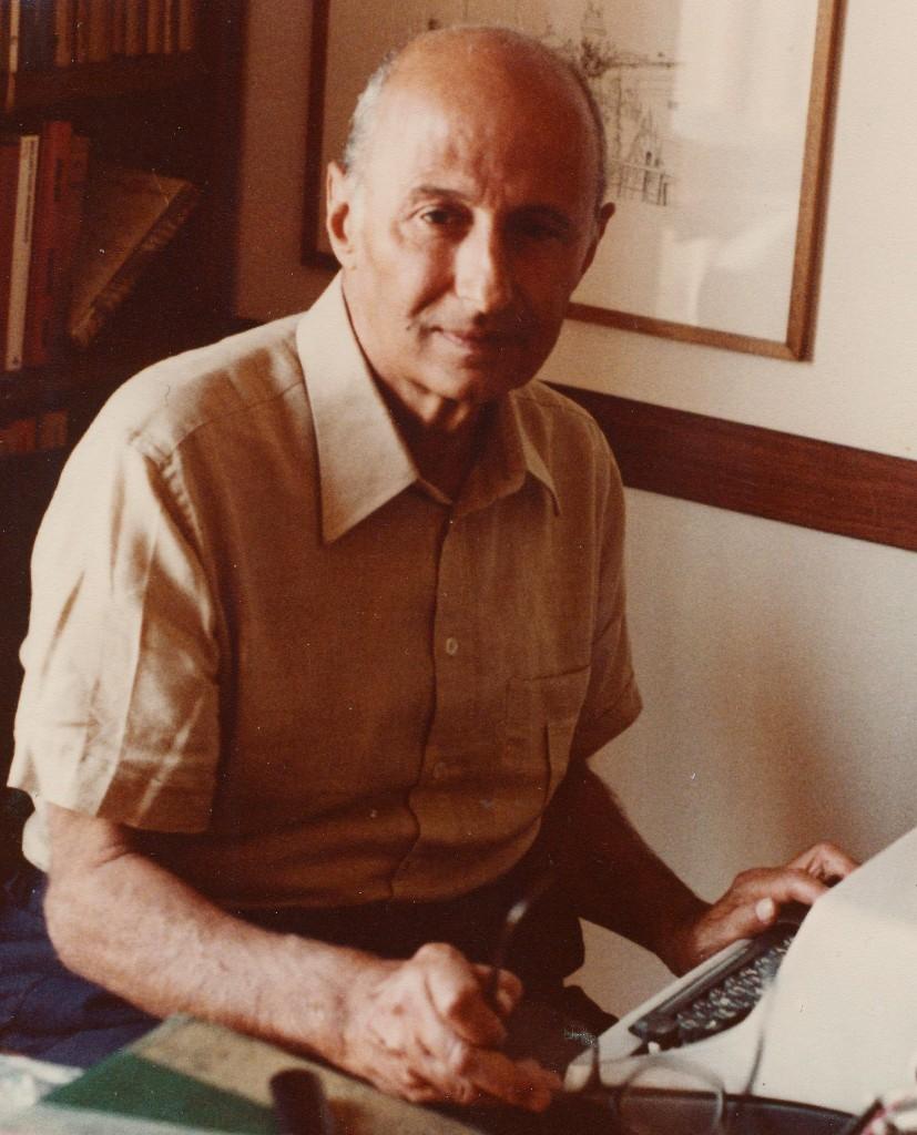 Una fotografia storica di Mario Pomilio
