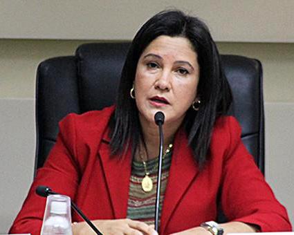 la ministra Marlene Contreras